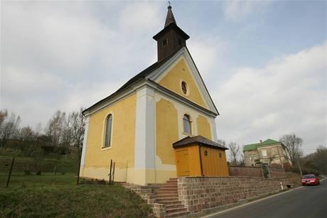 Opravená kaple v Babí u Trutnova