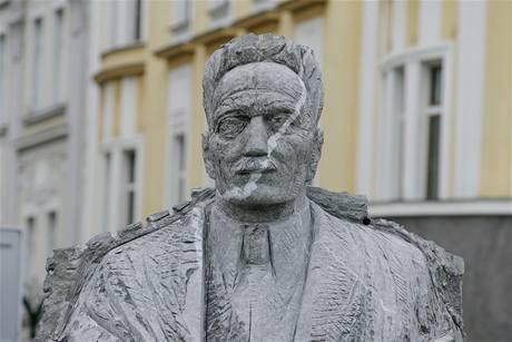 Socha královéhradeckého starosty Františka Ulricha