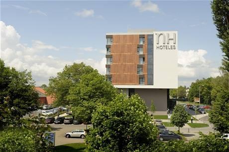 Olomoucký NH Hoteles byl vyhlášený stavbou roku.