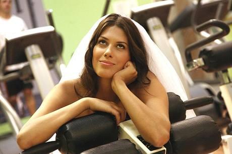 Aneta Vignerová coby tvář lákající nevěsty k hubnutí a cvičení