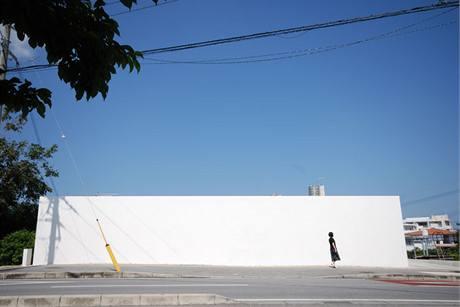 Minimalistický dům na ostrově Okinawa