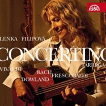 Lenka Filipová - Concertino 2010 (obal alba)