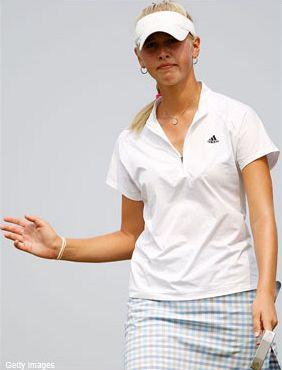 Jessica Kordová v úspěšné kvalifikaci na LPGA Futures Tour 2011.