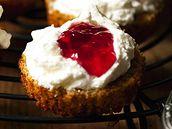 Dýňové muffiny s tvarohem.