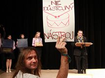 Protest Martina V�cheta
