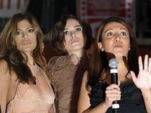 Keira Knightley a Eva Mendes se kvůli protestům italských umělců proti vládě nemohly ukázat na červeném koberci