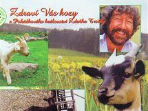 Na třetím místě se v soutěži Jihočeská pohlednice roku umístila pohlednice z Kozích slavností na Helfenburku