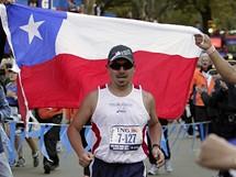 Edison Peňa si splnil sen, maraton uběhl za méně než šest hodin.
