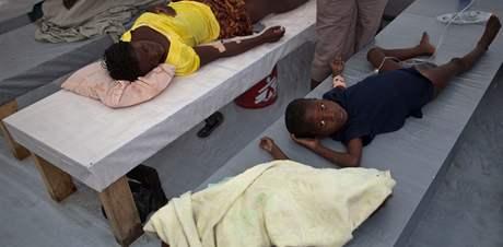 Epidemie cholery sužuje Haiti