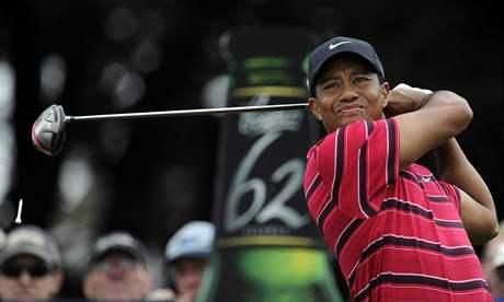 Tiger Woods, čtvrté kolo Australian Masters 2010.