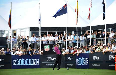 Tiger Woods, Australian Masters, 1. kolo
