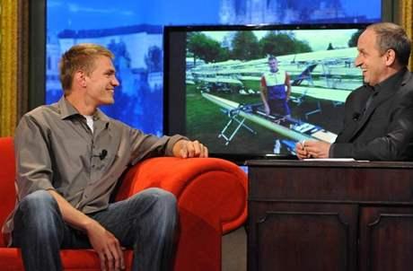 První český mistr světa v jízdě na skifu Ondřej Synek v Show Jana Krause