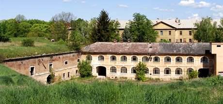 Vnitřní část  kavalíru a pevnostní pekárny.