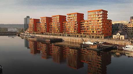 Aneta Vignerová se zabydlela v okolí holešovického přístavu