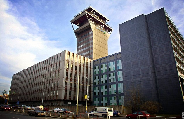 Pra�ské sídlo spole�nosti Telefónica O2. Ilustra�ní foto