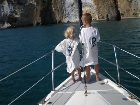 Moravyacht - Děti na lodi