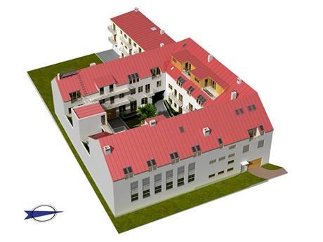 Rezidence Jistebnická - Pohled východ