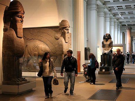Velkolepé prostory Britského muzea