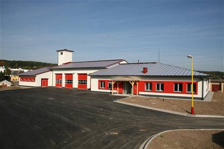 Výstavba nové stanice hasičů ve Dvoře Králové nad Labem