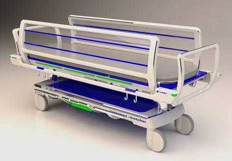 Andrea Benešová, nemocniční lůžko, Dobrý studentský design 2010