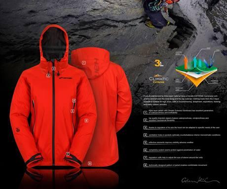 Adam Kühnel, Dámská horolezecká bunda Mascotte, Excelentní studentský design 2010
