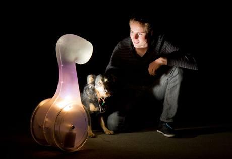 Jindřich Vodička, Interaktivní svítidlko Tvor, Národní cena za studentský design 2010