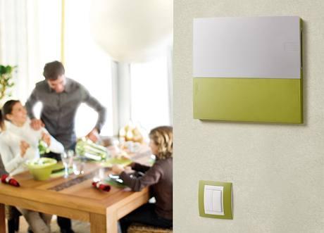 Rozvodnici lze s vypínači barevně sjednotit