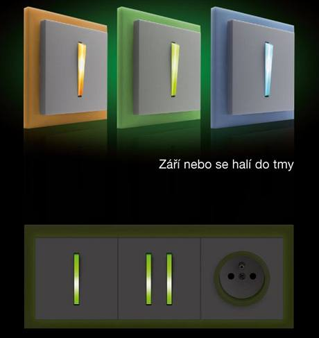 Řada Neo s podsvícením