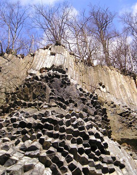 Kamenné varhany na Zlatém vrchu