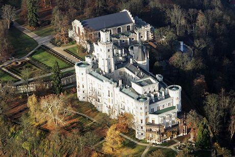 Na zámku Hluboká budou probíhat prohlídky celou zimu.