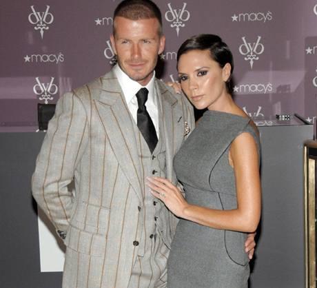 Victoria a David Beckhamovi