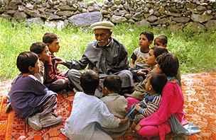 hunza s dětmi