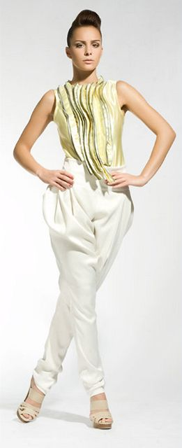 Finalistka Miss golf 2010 Šárka Sokolová.