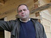 Ilie Ioan Benta, jehož firma pravoslavný kostel staví.