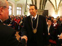 Staronovým jihlavským primátorem se stal Jaroslav Vymazal (ODS).