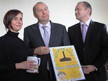 Cenu pro nejlepší pivovar roku předával jihomoravský hejtman Michal hašek