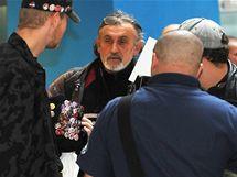 U městského soudu v Brně se konalo líčení se špičkami rozpuštěné Dělnické strany za prvomájové výroky v roce 2009. (18. listopad 2010)