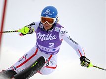 CESTA K VÍTĚZSTVÍ. Rakušanka Marlies Schildová na trati závodu Světového poháru ve finském Levi, kde dokázala zvítězit.
