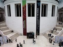 Nová knihovna v zastřešeném dvoře Britského muzea