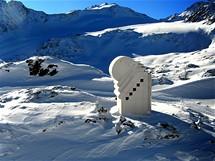 Kaple na Pitztalském ledovci