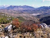 Sierra de Las Nieves, vyhlídka Guarda Forestal