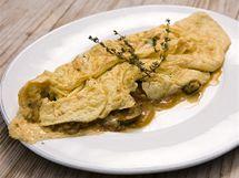 Vaječná omeleta s ratatouille