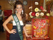 Česká Miss Vitalita 2010 Carmen Justová na mezinárodní soutěži Miss Earth 2010