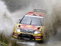Petter Solberg při Britské rallye