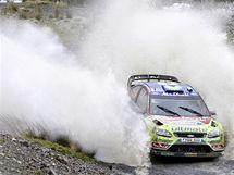Jari-Matti Latvala  při Britské rallye