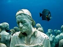 Podmořské muzeum v Cancúnu