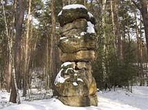 Skalní socha Sedm chlebů, Kokořínsko