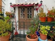 Lisabon. Zákoutí ve čtvrti Alfama