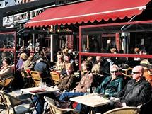Po procházce centrem belgického Hasseltu si můžete odpočinout na zahrádce Coffee House na náměstí Grote Markt.