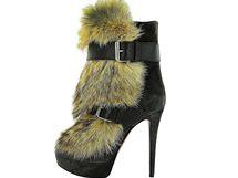 Trendy zimní boty: kožešiny